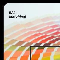 Außendekor - Medium - Acrylglas - Individualfarbe